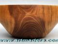 Cuenco de madera de nogal. F. Treceño-tornero de madera