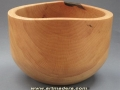 Madera de encina. Cuenco de encina -Quercus illex-. Torneados en madera F. Treceño