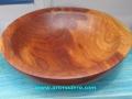 Madera de almendro. Torneados en madera artmadera
