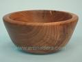 Bol de madera de almendro. Torneados Art madera; Francisco Treceño.