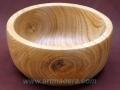 Bol de madera de castaño. Torneados Art madera; Francisco Treceño