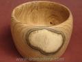 Bol de madera de acacia. Torneados Art madera; Francisco Treceño