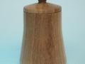 Joyero de madera de nogal. Tornero de madera Francisco Treceño