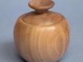 Joyero o cajita de madera de nogal. Torneados de madera Francisco Treceño