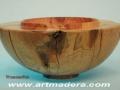 Torneado de madera de enebro. artmadera