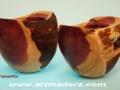 Madera de sabina -enebro-. Treceño, tornero de madera; artmadera