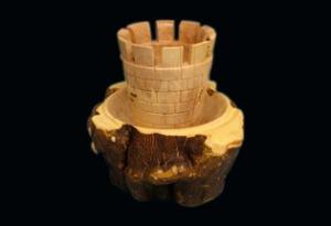 Piezas Escultóricas de Madera